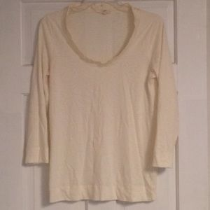 J Crew Light Weight Dressy Long Sleeve T-shirt